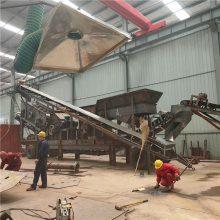 郑州砂岩移动打砂机 可随时撤离的流动式制砂机可柴油机可机组