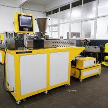 锡华供应塑料配方流延膜试验机 最薄出片0.03mm 实验室小型流延膜机