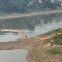 河道白色垃圾拦截浮体 电站上游拦污浮筒 水面漂浮物拦截索批发