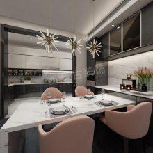 保利天汇113户型设计方案,保利天汇装修效果图,天古装饰北滨店