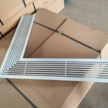 源头厂家 工程定制各种类型回风口 条形带灯槽出风口