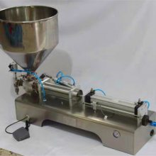 WF优质红油火锅料全自动双头灌装机
