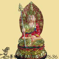 坐兽地藏王亚博里面的AG真人价格 寺庙供奉树脂亚博里面的AG真人 地藏王菩萨心咒全文