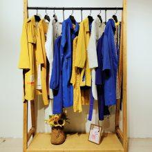 广州 品牌折扣女装20春拉链开筒连帽撞色针织上衣【赢画】街头风女装厂家货源直销