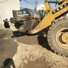 搅拌斗一体机铲车带搅拌混凝土机械多少钱一台