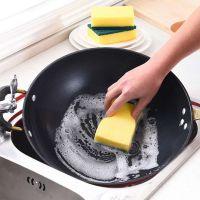 聚富供应洗碗清洁纳米海绵擦 洗锅神器 聚氨酯