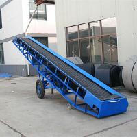 箱装洗衣液装车输送机 宣城市大米输送机 黄沙码垛用大型输送机