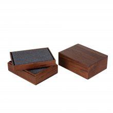 实木高档包装盒定制胡桃木包装礼盒定做厂家