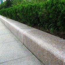 路沿石厂家报价灰色花岗岩路沿石多少钱一米-山东嘉祥石雕