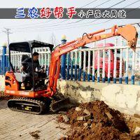 能干农活的小型挖掘机型号尺寸 小挖机