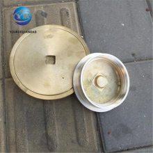 友瑞牌地面清扫口DN150 铸铁铜盖清扫口 WJ清扫口厂家