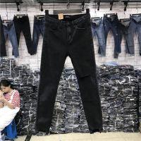 便宜女士小脚裤杂款便宜铅笔裤清货女装裤子清货秋冬加绒弹力牛仔裤