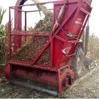 玉米秸秆粉碎回收机 大型养牛场玉米秸秆粉碎回收机 多功能牧草秸秆收集机