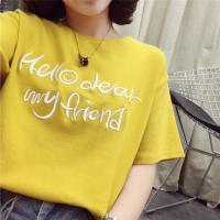 3元清夏季T恤大版T恤地摊韩版女士短袖低价清货便宜女装批发