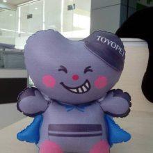 电压厂家供应充气手抱公仔 充气手臂玩偶 出口日本充气球