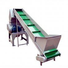 高低可调皮带输送机流水线移动式可升降皮带输送机ljxy