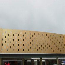 会所门头铝板装饰_德普龙氟碳漆门头铝板厂家销售