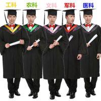 成人博士服大学学生学院风毕业照文理工医科学士硕士得奖服装校服