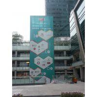 深圳专业制作单透贴喷绘、公交车车身宣传贴 广告单孔透车身贴海报工厂在哪