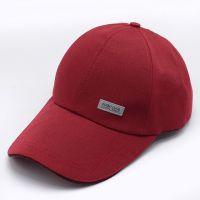 厂家批发韩版潮流帆布运动太阳帽 男女通用休闲鸭舌帽遮阳棒球帽定制
