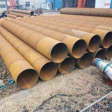 600井壁管打井滤水管,钢制花管377mm打井滤水管生产厂家