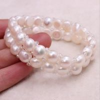 供应珍珠代加工手链3元一串项链5元的加工费