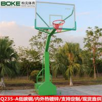 全國發貨 柏克學校标準籃球架 方管可移動籃球架 支持定制籃球架