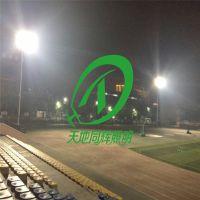 300米400米跑道照明灯|标准400米田径场装多高灯杆比较合适|学校田径场灯杆多高