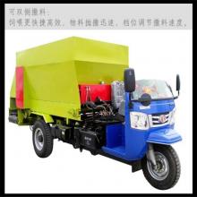 电动撒料车不惊吓牛羊 动力十足的柴油喂料车 专注于研发撒料车的厂家