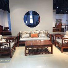 华夏名琢花梨木红木新中式家具款式新颖价便宜