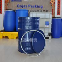 厂家供应200L开口铁桶208l开口桶烤漆桶镀锌桶200升油桶化工桶