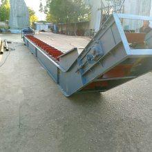 定做重型刮板输送机 碳灰渣刮板输送机 单板链刮板输送机qk