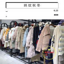 四季青服装批发市场纳纹知名品牌女装19秋冬装特价货源尾货新款组货包