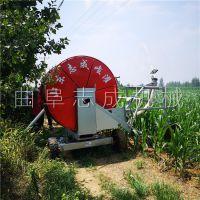 农业用具 大型移动式卷盘喷灌机 50-180型草场牧场喷洒机 农作物浇地机志成