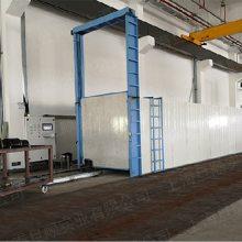 玻璃钢管道专用烘箱 大型地轨烘箱 地轨流水线