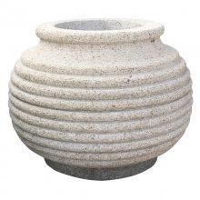 景观欧式花钵大小 大理石石材花钵价格 花盆来图定制