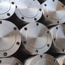 直销DN80碳钢锻打国标法兰盲板堵头美标带径对焊法兰盘150LBso