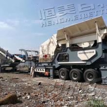 山东恒美百特建筑垃圾处理设备 移动式破碎机厂家