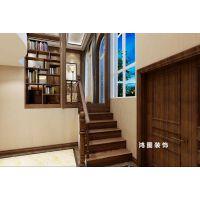 【龙湖葡醍海湾】300平米别墅中式风格装修效果图