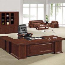 【马头实木班台】(图)-四川老板办公桌批发-老板办公桌