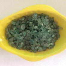 水晶绿色碧玺原石 绿色消磁碎石 铺花盆鱼缸用 过滤用