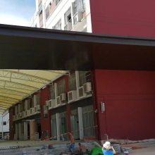 雨棚铝单板门头铝板合金幕墙板金属装饰建材