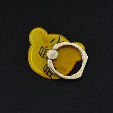 可爱型熊头指环扣、可爱型熊头指环扣、厂家定制