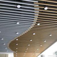 铝方通厂家供应热转印木纹U型铝方通吊顶型材铝方通