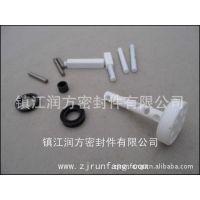 氟塑料四氟填充石墨、增强玻纤:耐磨损密封件,耐高温密封轴垫片