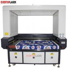 服装印花大幅面自动送料激光切割机数码印花摄像头激光镭射机