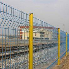河南山木生产供应双边丝护栏网 质优价廉浸塑双边丝网 圈地网