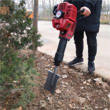 苗木断根起树机 铲头式挖树机 进口汽油铲树机价格