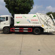 东风天锦压缩式垃圾车配置价格,楚胜环卫垃圾车厂家直销