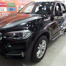 郑州宝马X5贴膜漆面透明保护膜+隐形车衣实拍作业